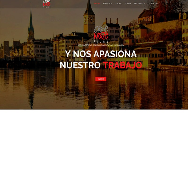 Crearte Films Diseño web en Barcelona