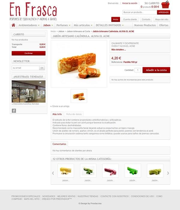 Enfrasca Diseño web