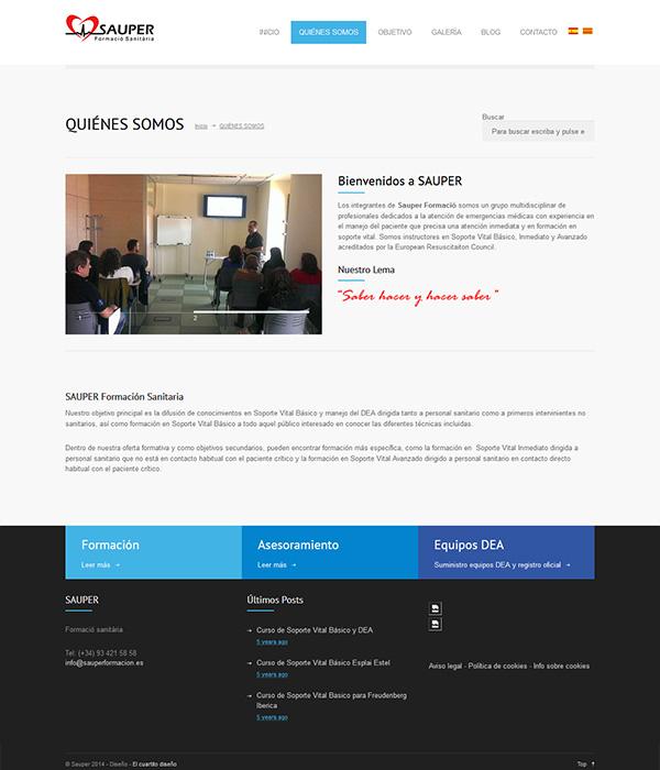 Sauper Diseño web en Pineda de Mar