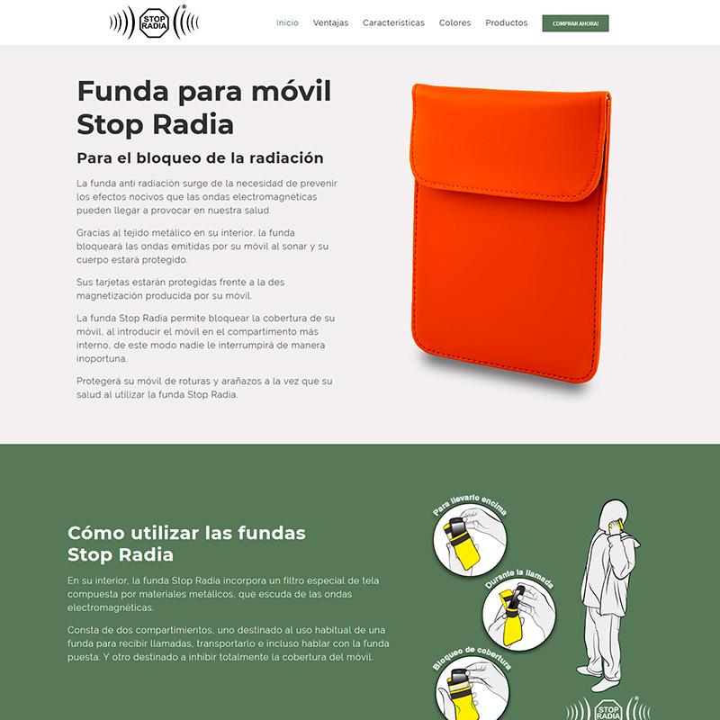 stop radia Diseño web en Pineda de Mar